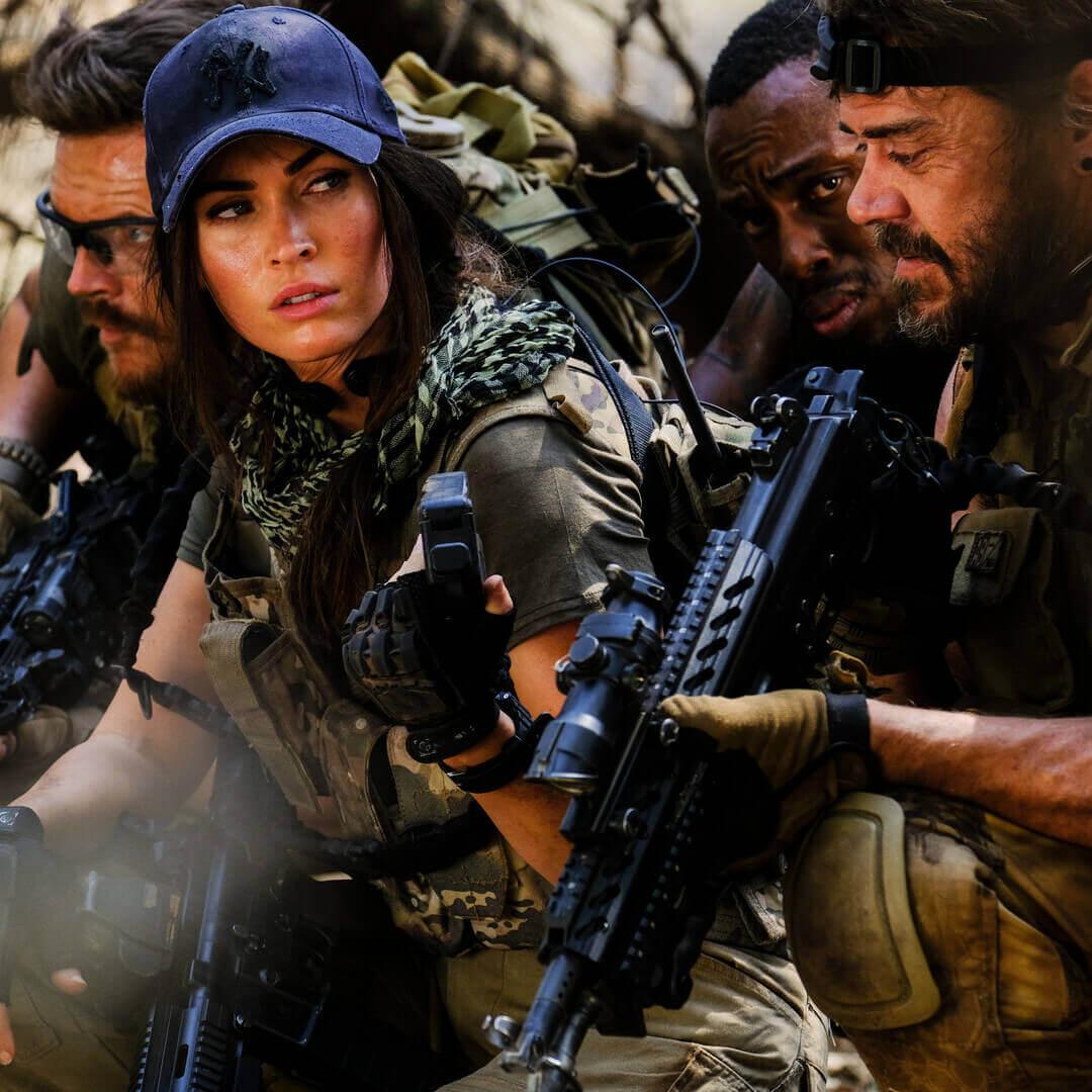 Megan Fox in Rogue Showmax