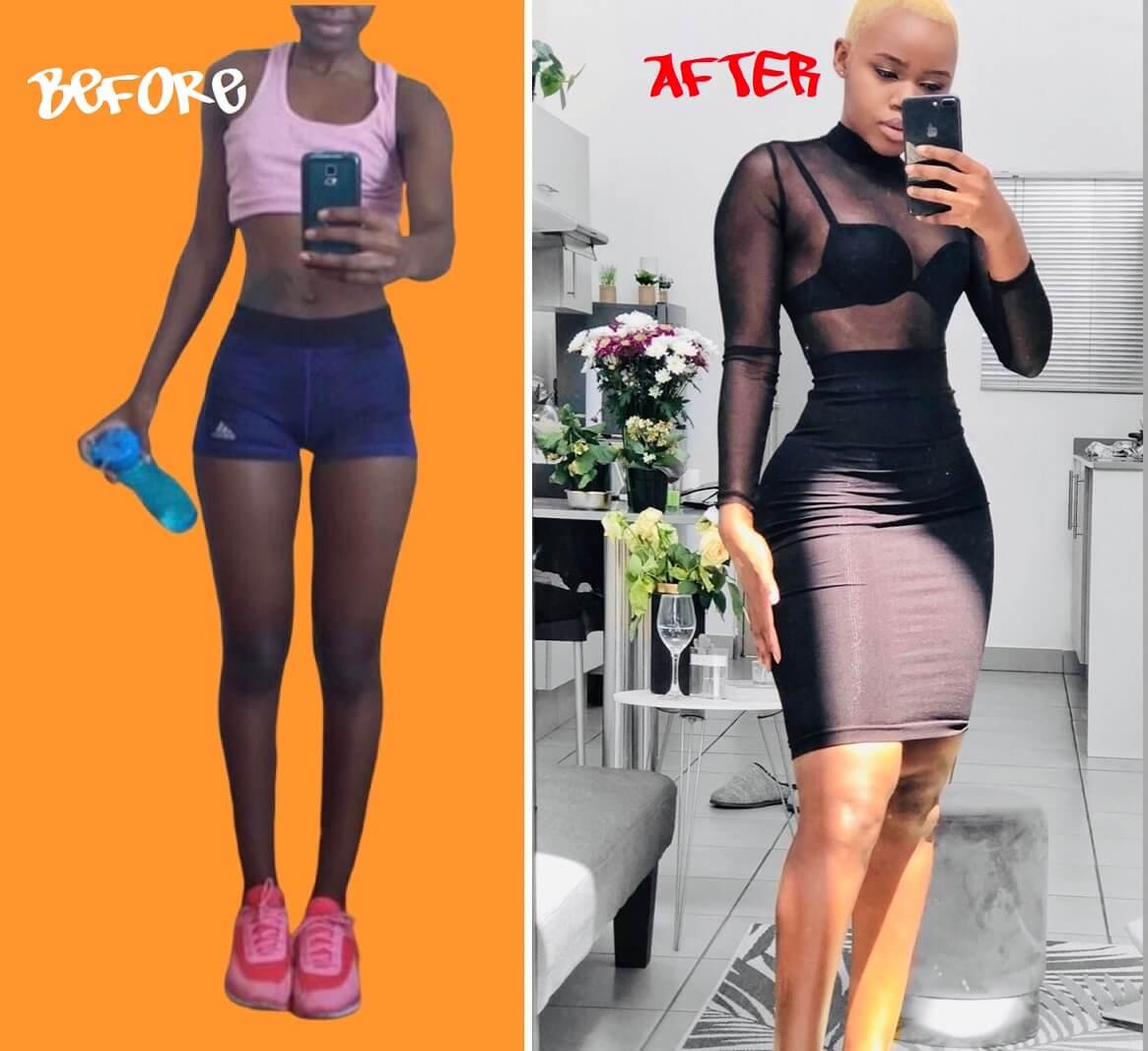 How nani transformed her body