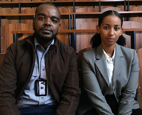 Alfred Munyua and Sarah Hassan in Crime & Justice