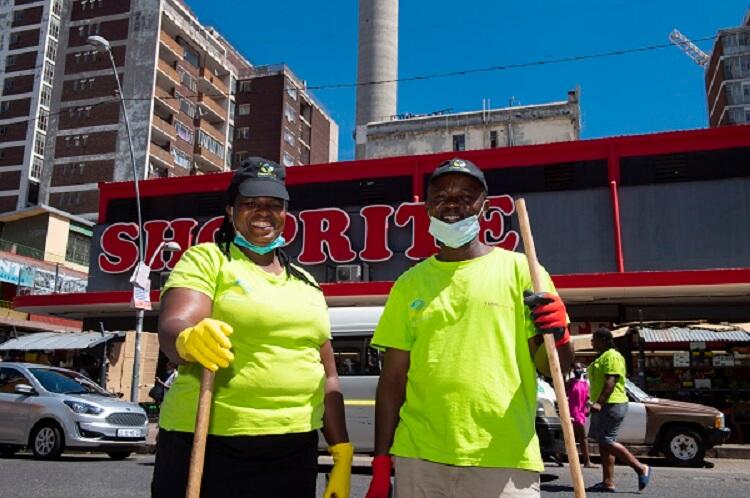 Shoprite Checkers - Clean CitySA Hillbrow Cleanup