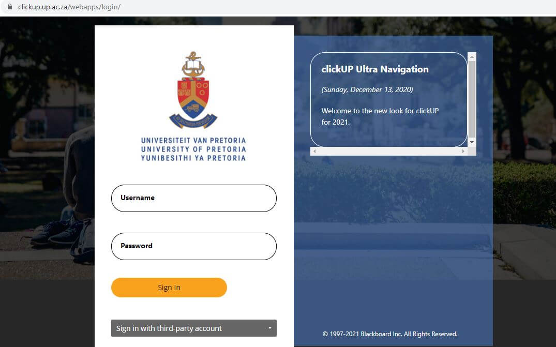 ClickUp Login Page