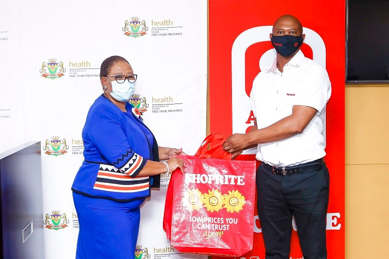 MEC of Health Free State and Raymond Mzizi, Regional Manager Central Region