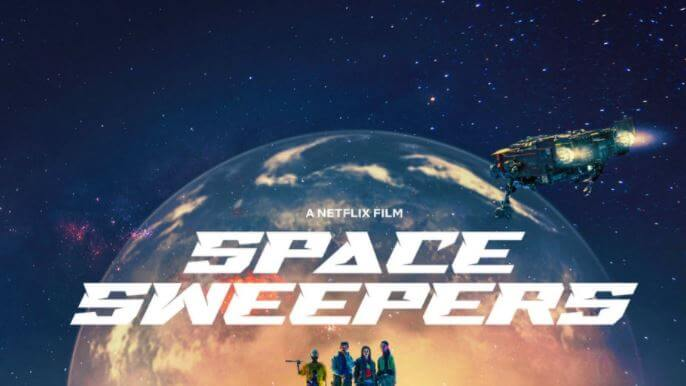 SPACE SWEEPERS Netflix