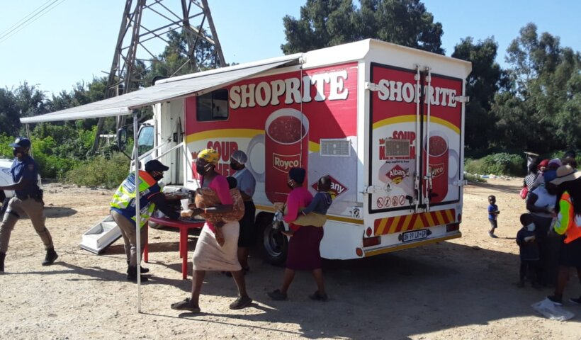 Shoprite Group feeding the community