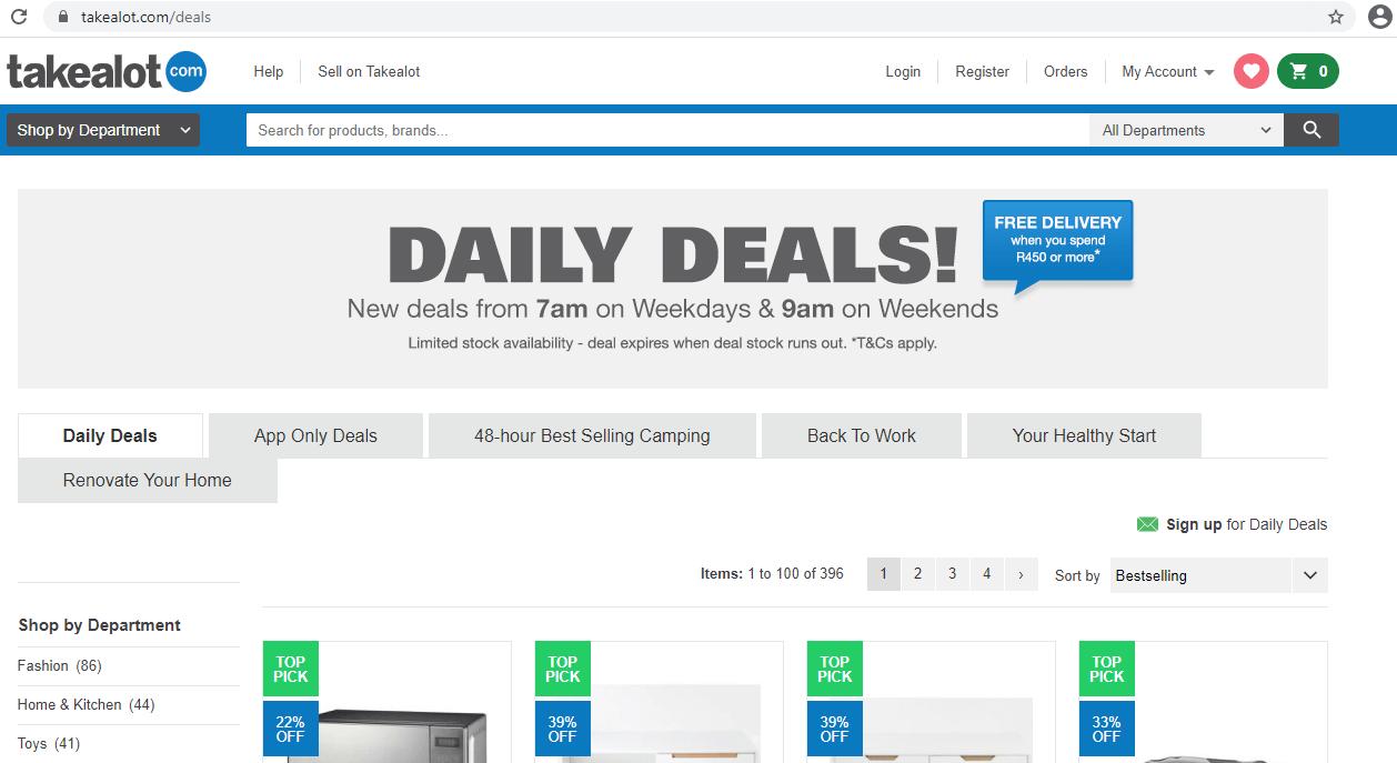 Takealot.com Daily Deals
