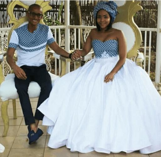 Tswana Traditional Wedding Dresses