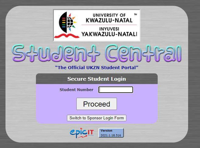 Ukzn Student Central
