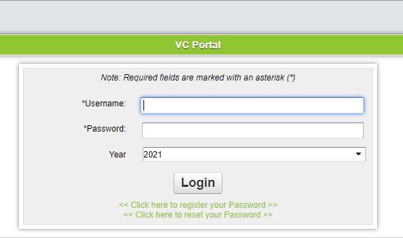 VC Portal Login