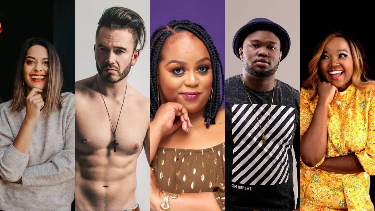 Celebrities - Kriya, Daniel, Carol, Sabby, Zanele