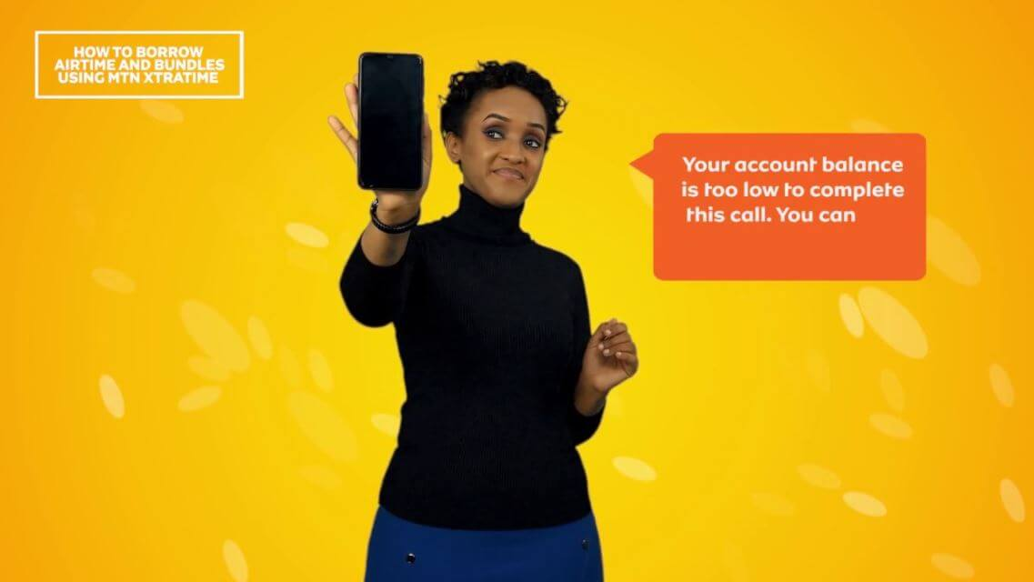 How to Borrow Airtime from MTN in South Africa