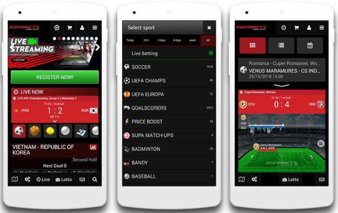 Supabets Mobile Download