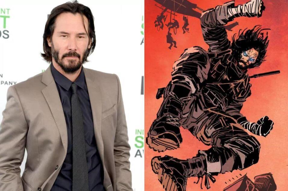 Keanu Reeves's Comic Book 'BRZRKR'