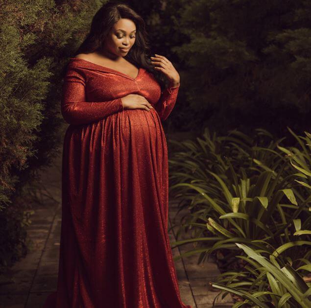 Relebogile Mabotja Pregnant Shoot