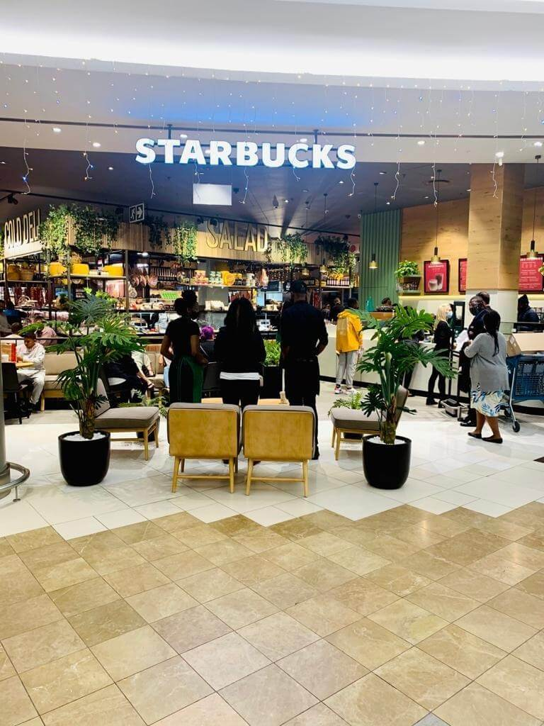 Starbucks Rosebank Mall