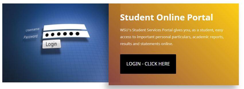 WSU Student Portal Login