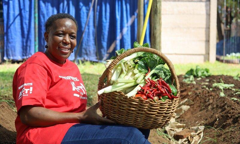 Nelly Komape, Founder of Mmakomape home Gardening