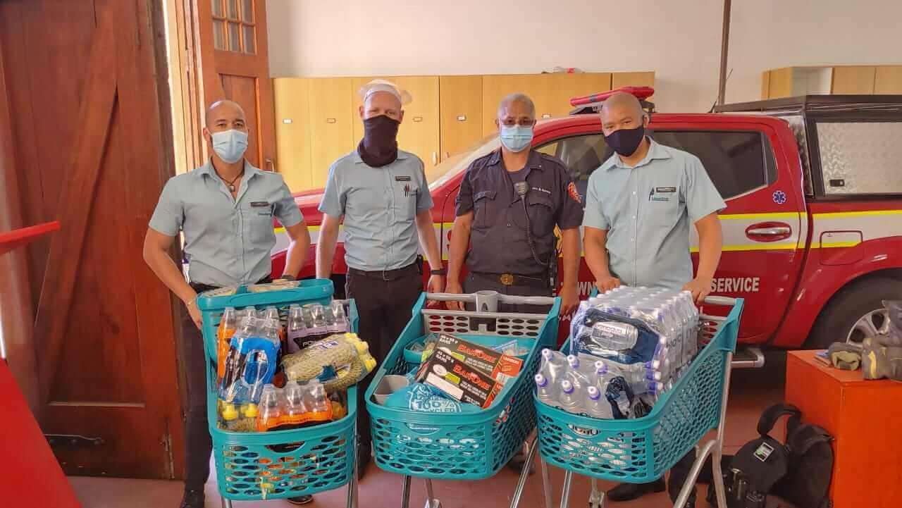 The Shoprite Group Table Mountain fire