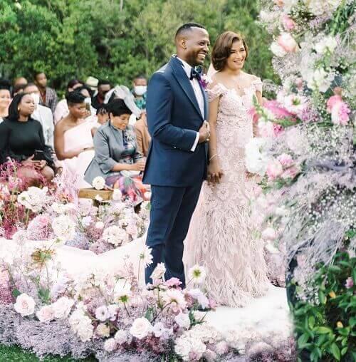 Kgolo Mthembu and Annie Ludick