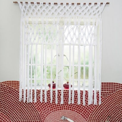 Macrame Curtains Steps