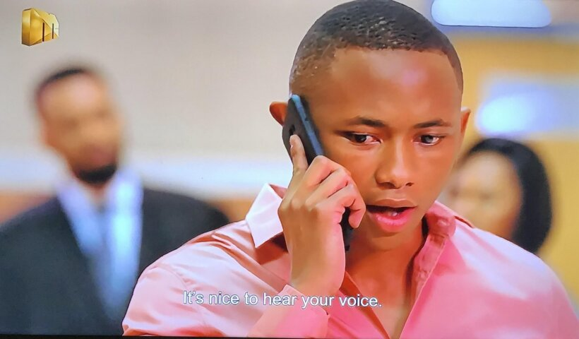 Ntokozo speaking to Buhle