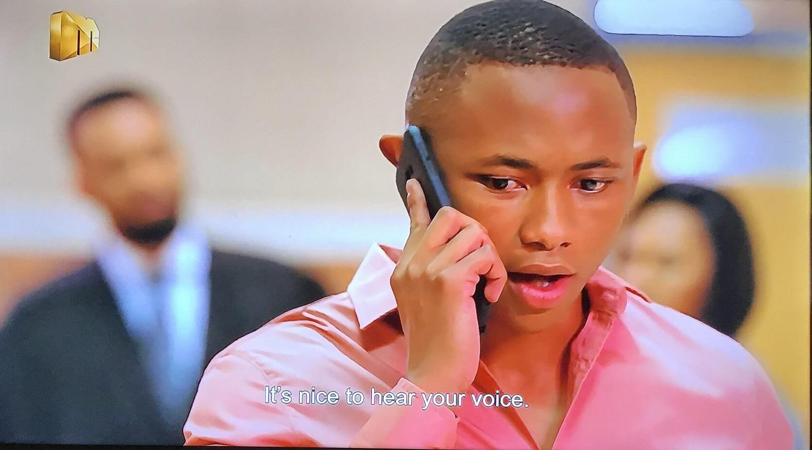 Ntokozo speaking to Buhle