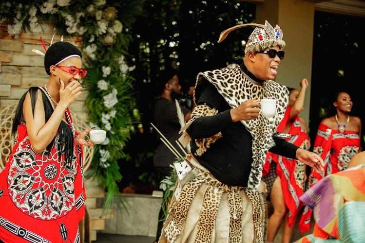 Babes Wodumo and Mampintsha in Uthando Lodumo