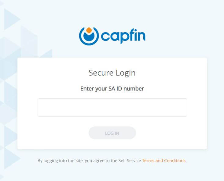 Capfin Login South Africa