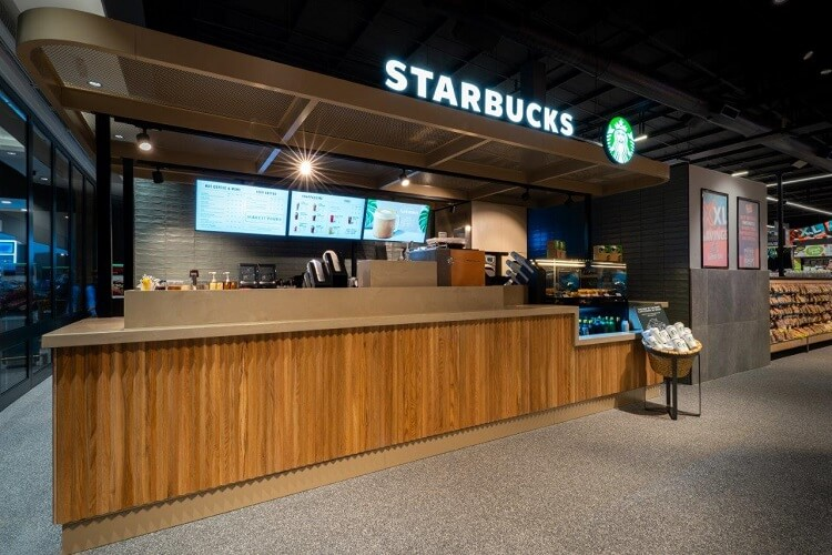 Starbucks Blueberry Square