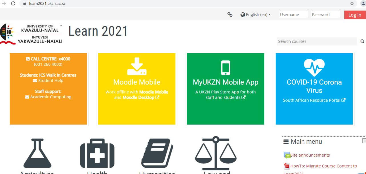 UKZN Learn 2021