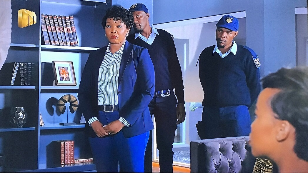Vuyiswa arrests Hector on The Queen Mzansi