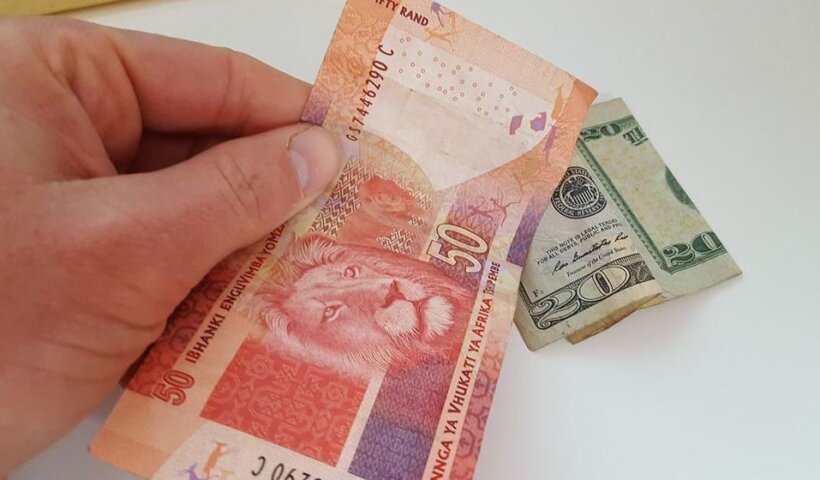 exchange rate pound to rand