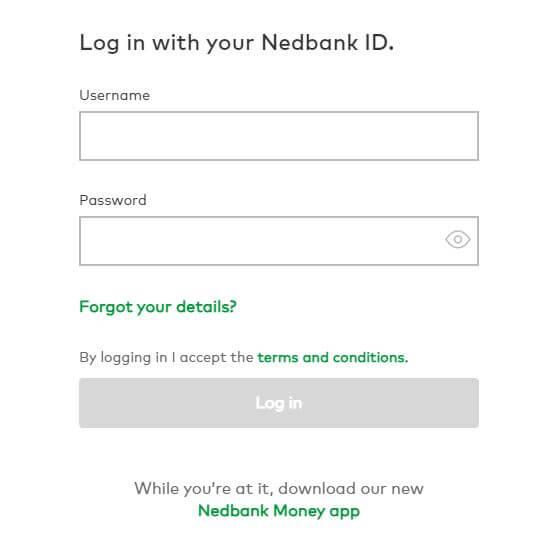 Nedbank Login Internet Banking