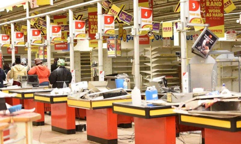 Shoprite Shop Vandalized