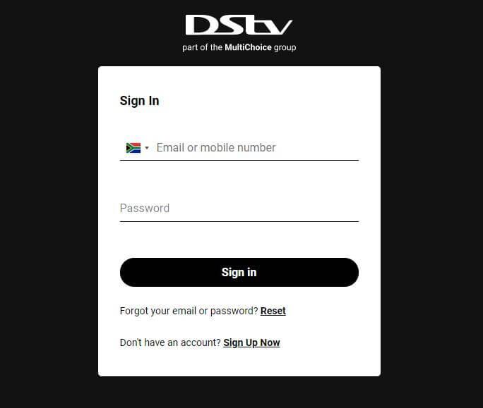 DStv Now Login South Africa