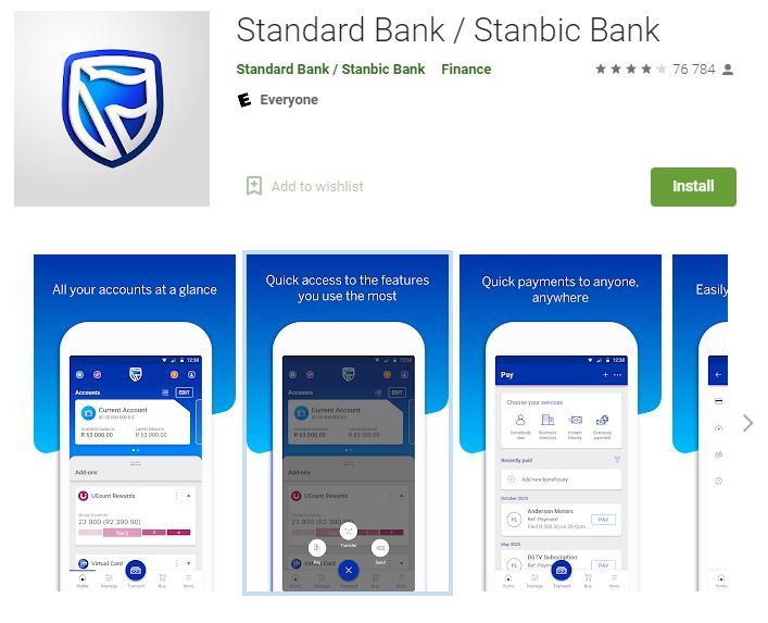 Standard Bank App South Africa