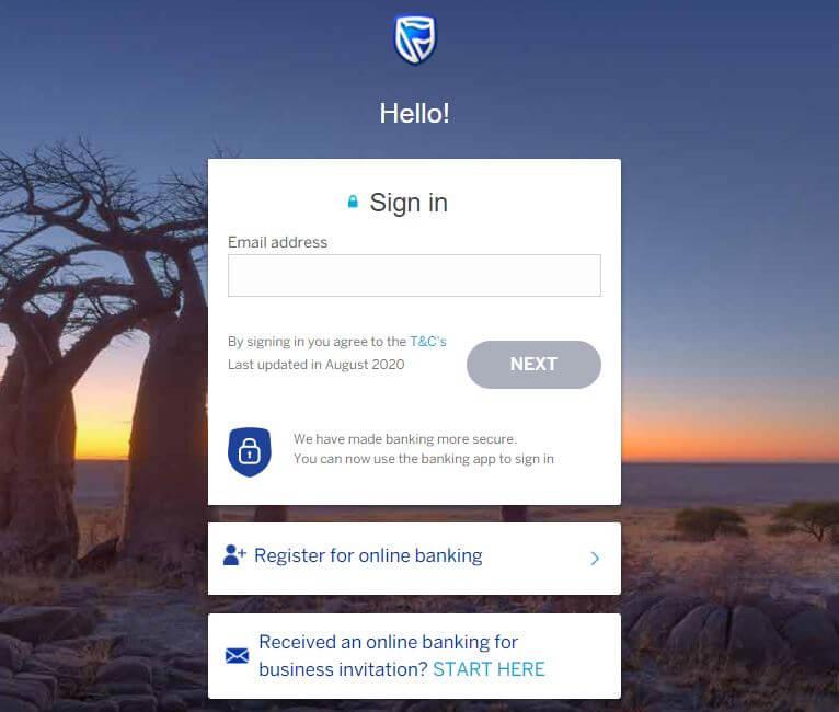 Standard Bank Login