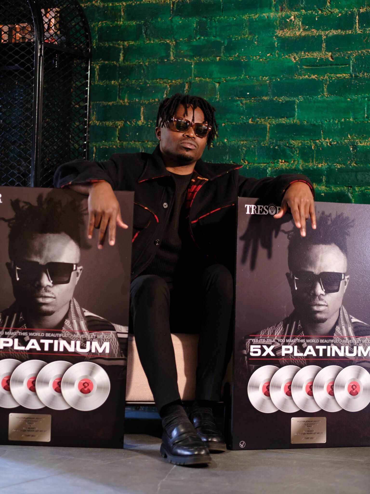 TRESOR certified 5X Platinum