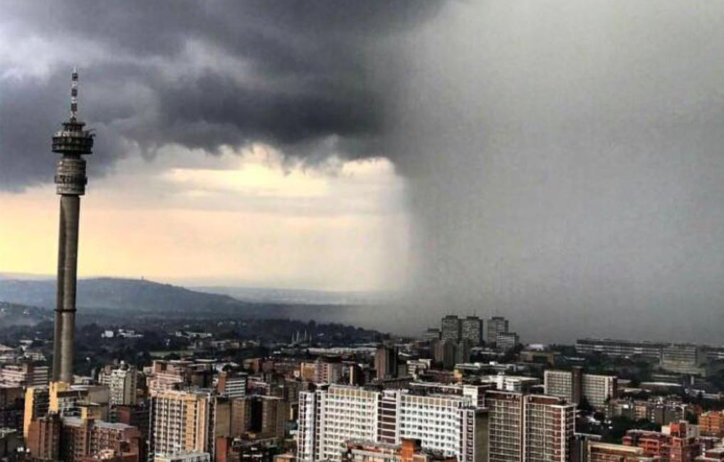 Weather for Johannesburg