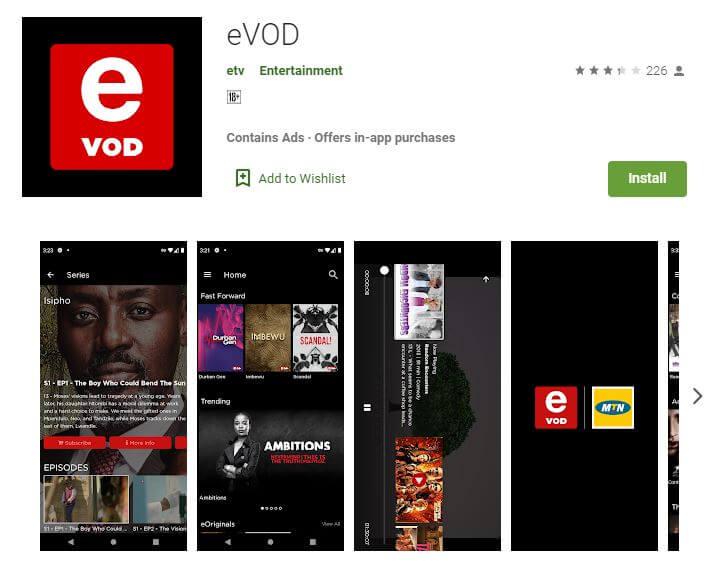 eVOD Streaming App