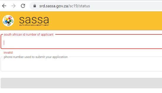 https //srd.sassa.gov.za /sc19/status