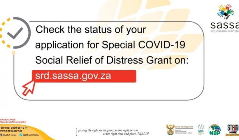 sassa status check R350 grant