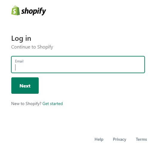 Shopify Login South Africa
