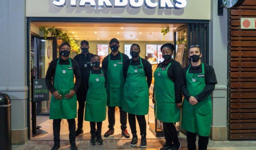 Starbucks Table View