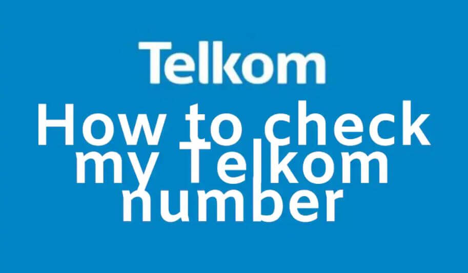 how to check my Telkom number