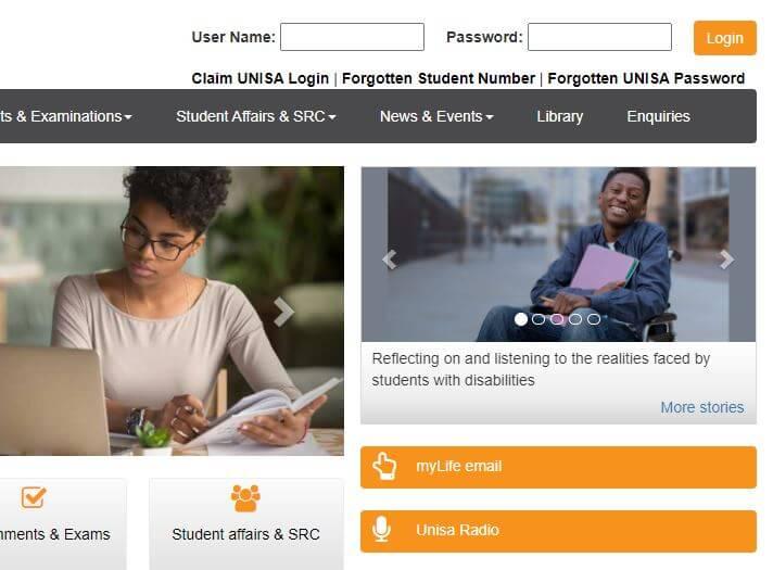 My Unisa Portal South Africa