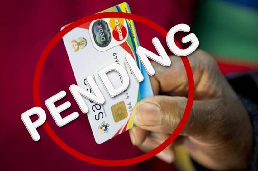 SASSA Status Pending
